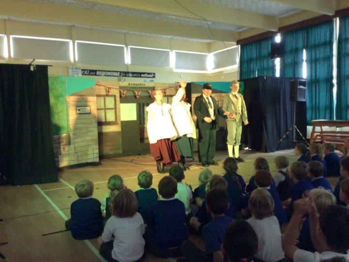 M&m production of the Railway Children