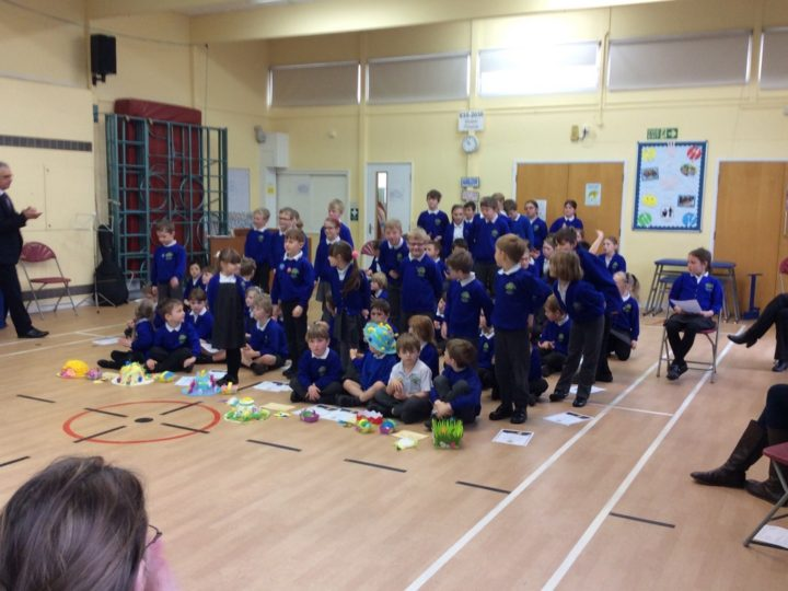 Easter assembly 28.3.18