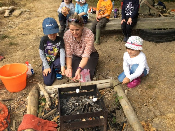 Year R and year 1 Forest School. 16.7.18