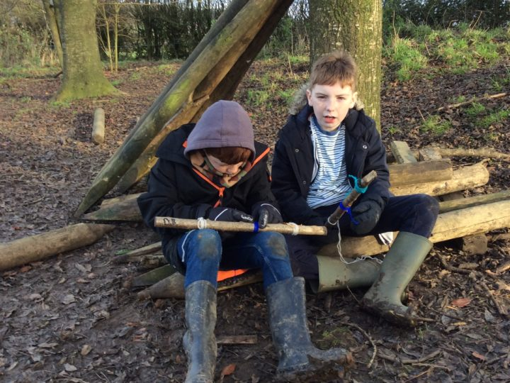 Outdoor learning 6.12.19 Story sticks part 2