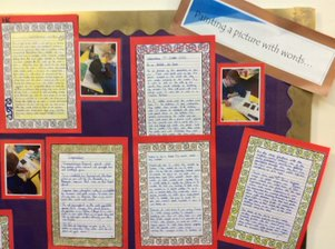 Oak Class – Painting pictures with words